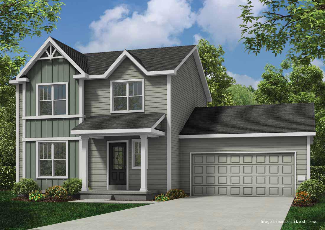 The beryl home plan veridian homes for Exterior shutter visualizer